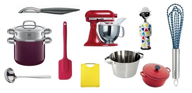 Com objetos simples ou sofisticados é possível montar uma cozinha moderna e funcional