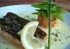 Linguado ao Creme de Limão-Siciliano com Arroz de Lentilha e Ervilhas Tortas